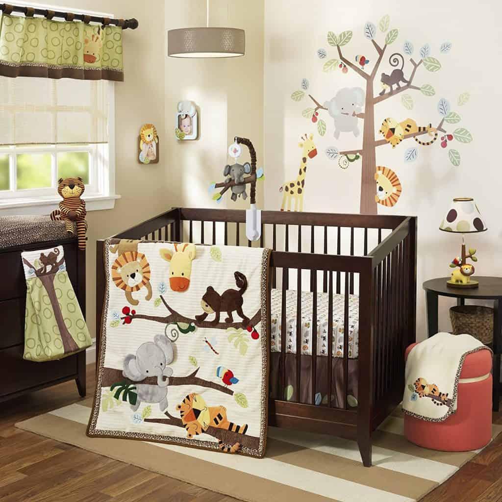 Treetop Buddies 4 Piece Baby Crib Bedding Set by Lambs & Ivy