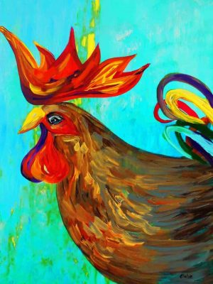 Vangohart - Ridiculously Handsome Rooster