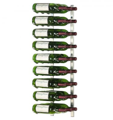 Vintage View 27-Bottle Wall Mounted Wine Rack