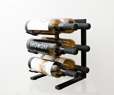 VintageView VV-MINI 6 Bottle Table Top Metal Wine Rack