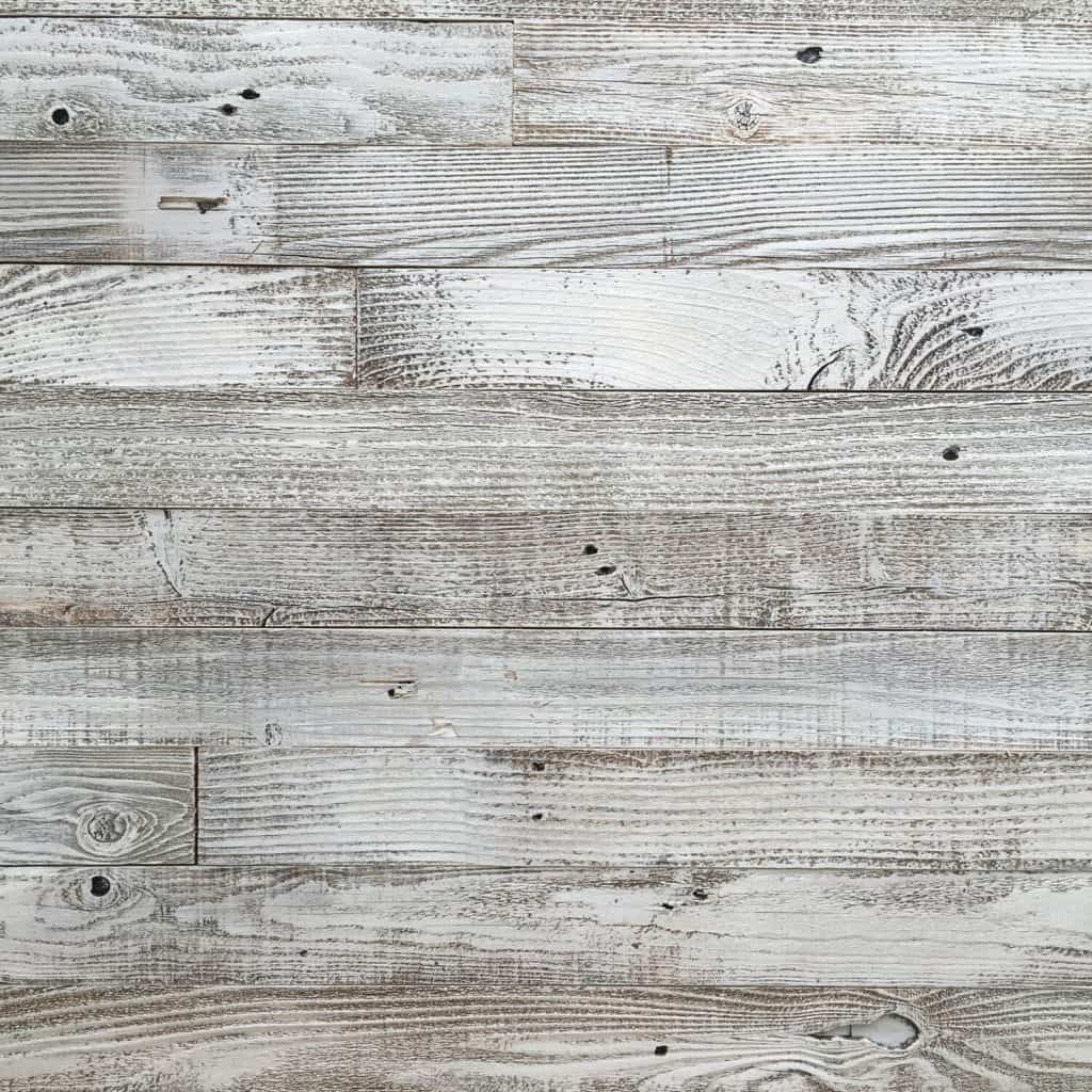 Whitewashed Barn Wood