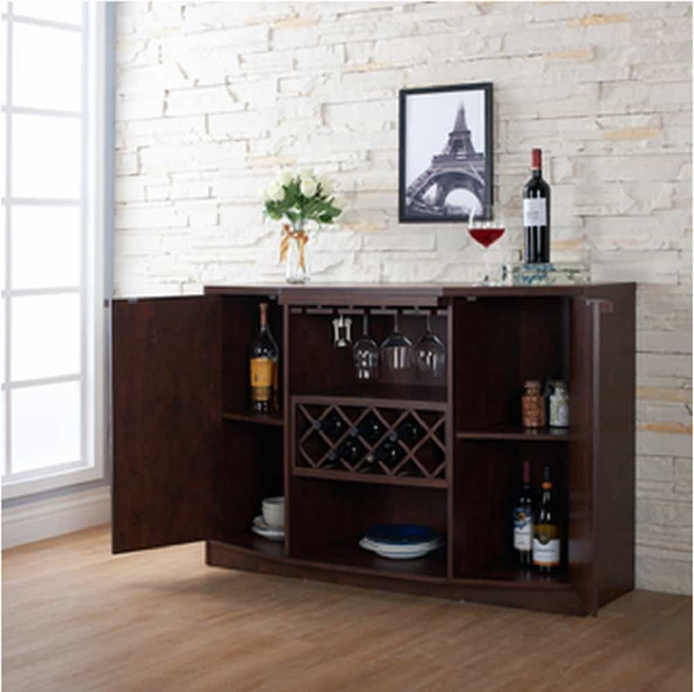Wine BAR Buffet and Storage Cabinet