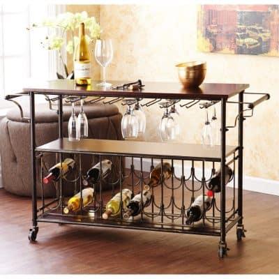 Wine Bar Cart