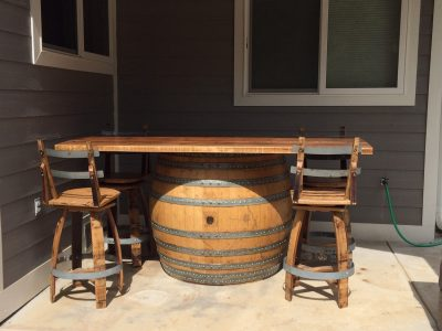 Wine Barrel Pungent Bar