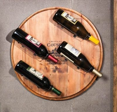 Wine Barrel Wall Wine Rack by Gifted Living