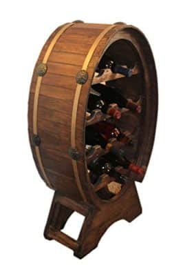 Wine Barrel Wine Cabinet