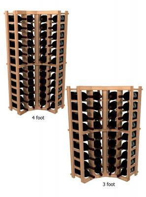 WineMaker Series Wine Rack - Individual Bottle Wine Rack - Curved Corner