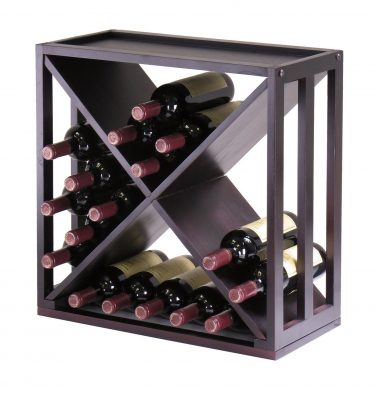 Winsome Wood Kingston X-Design Wine Storage Cube