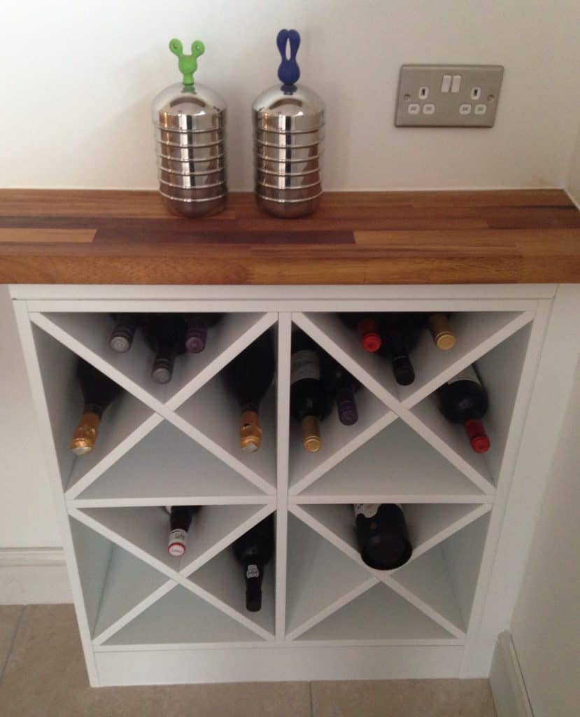 8 Great Ideas For Making Your Own DIY Wine Rack