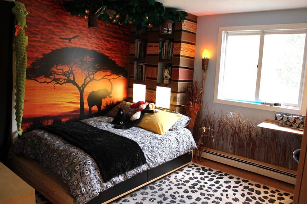 Image of: Safari Style Furniture Inside African Home Decorations 100 African Safari Home Decor Ideas Add Some Adventure