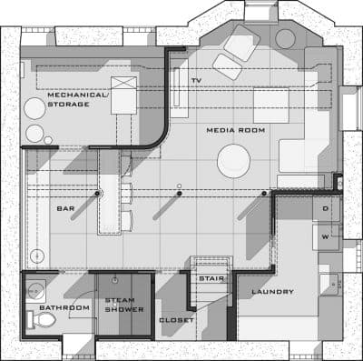 basement floor plans