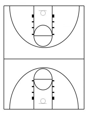 Tips To Make Your Own Basketball Court [Stencils Layouts U0026 Dimensions]