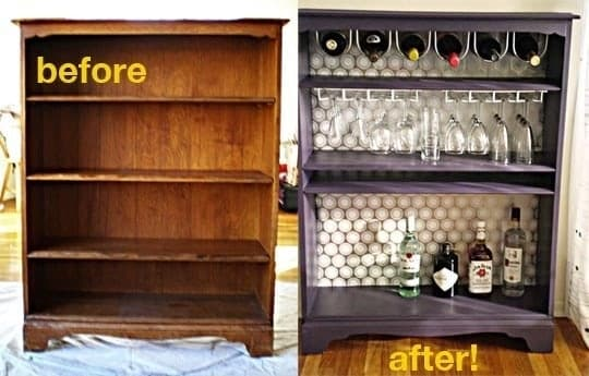 Bookshelf Winerack