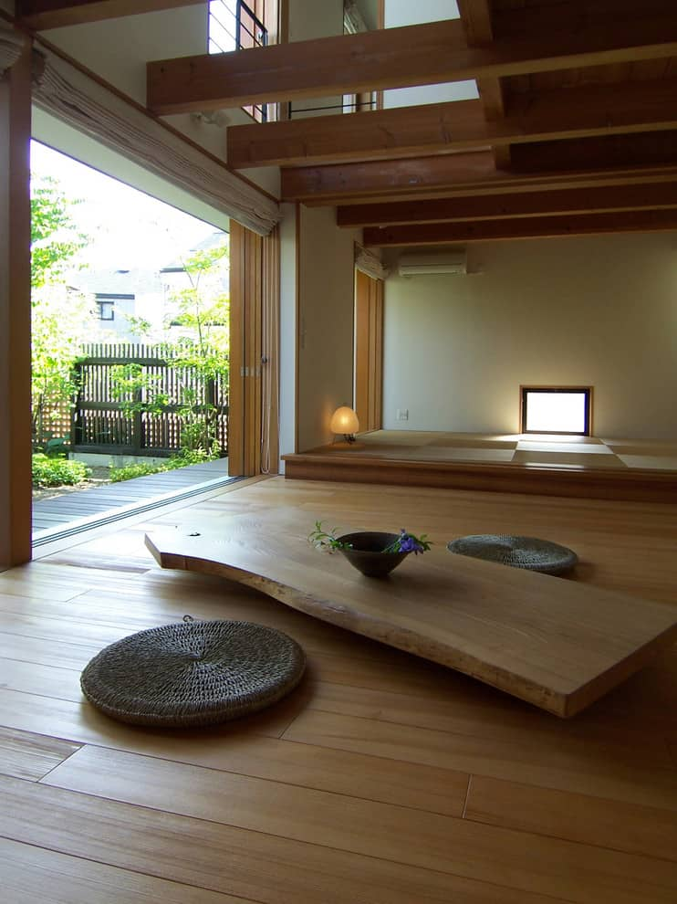 Japanese style living room best free home design for Living room japanese style