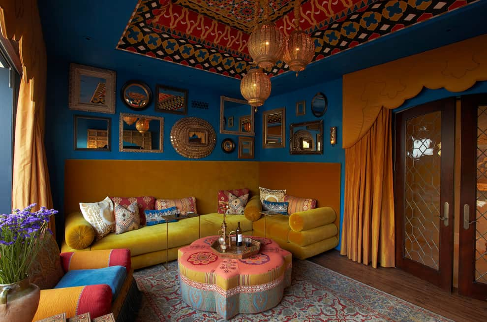 moroccan home decorating