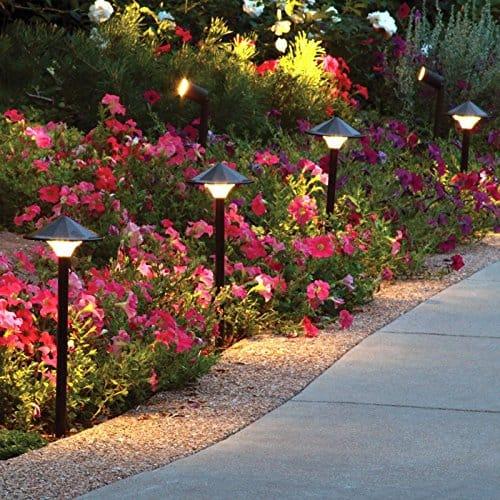 path lights - landscape lighting ideas