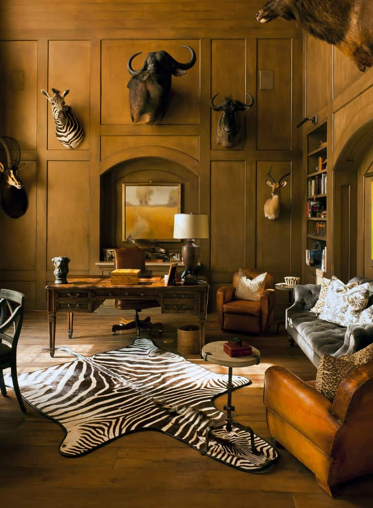 Room And House Decor Pictures: 100+ African Safari Home Decor Ideas. Add Some Adventure