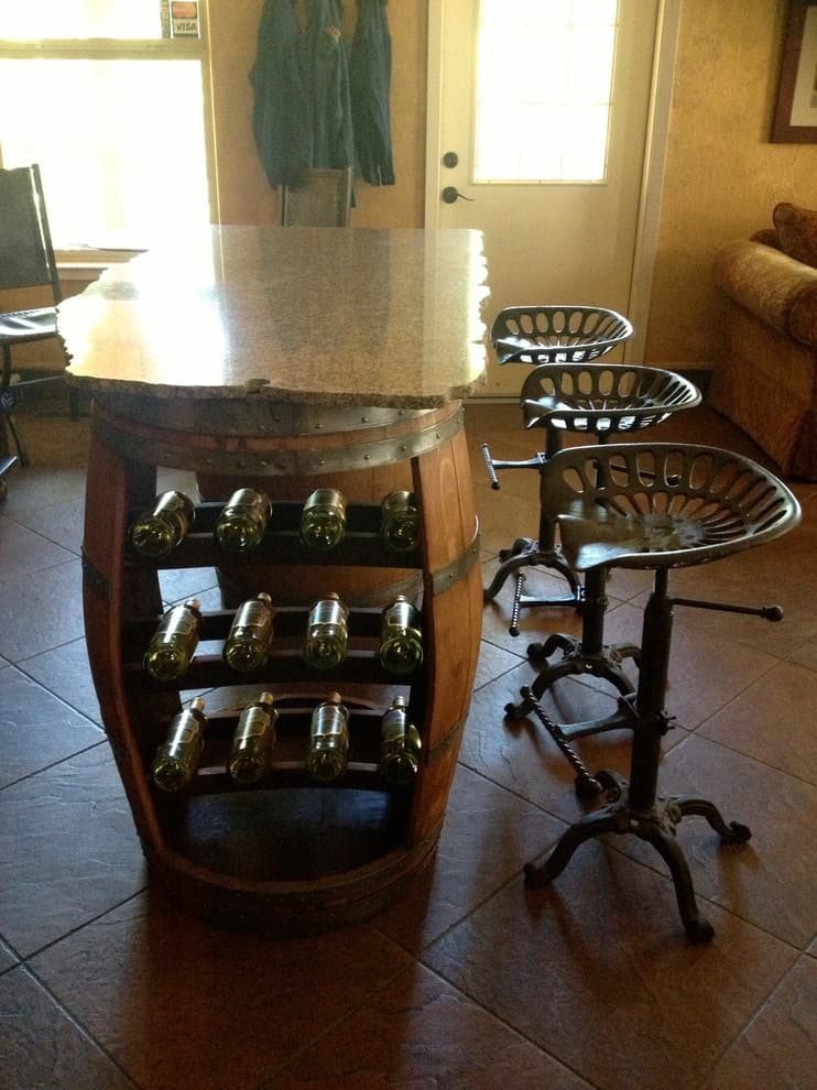 135 Wine Barrel Furniture Ideas You Can Diy Or Buy Photos