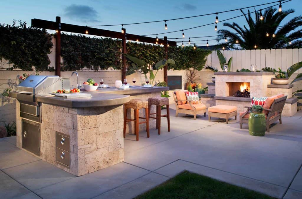 Light That Outdoor Kitchen Up!