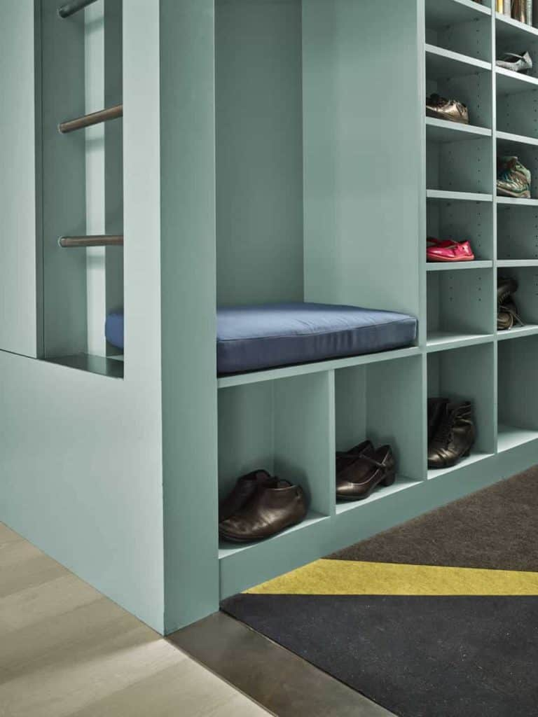 Shoe Storage Cubby Solution