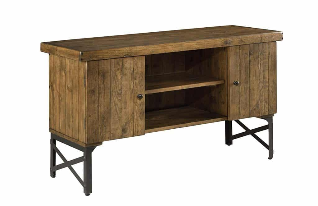 Emerald Home Chandler Rustic Wood Sofa Table