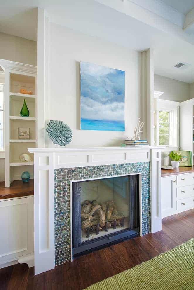 tiled fireplace ideas - Can I DIY a tile fireplace