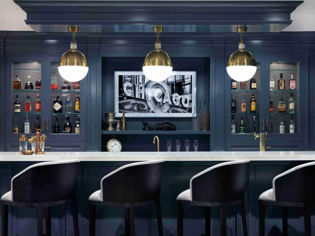 Elegant Bar Idea