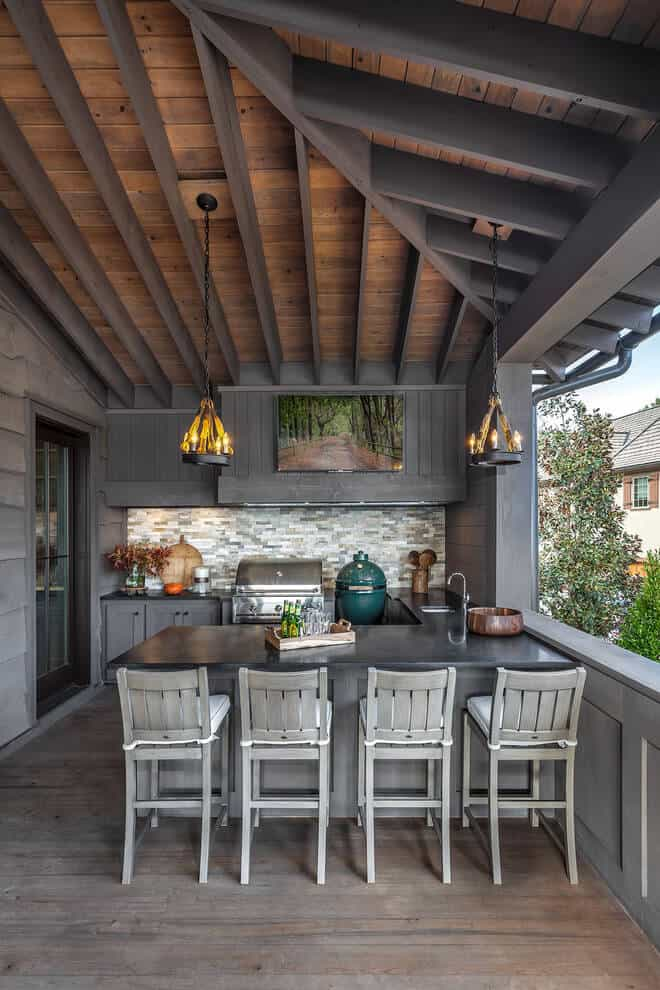 Where To Put Your Outdoor Kitchen Idea