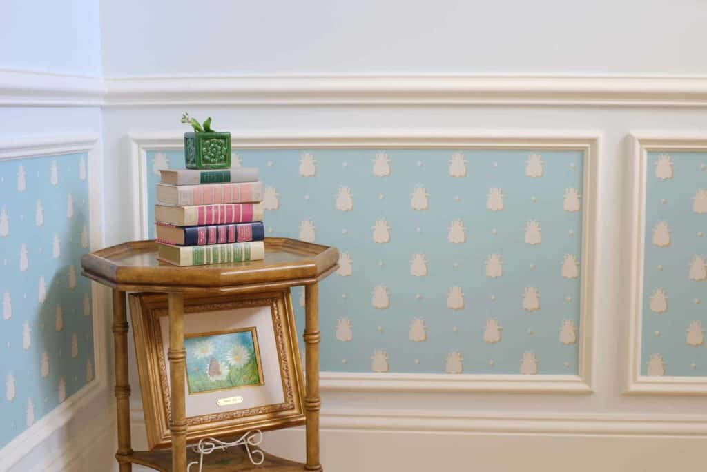 wainscoting nursery
