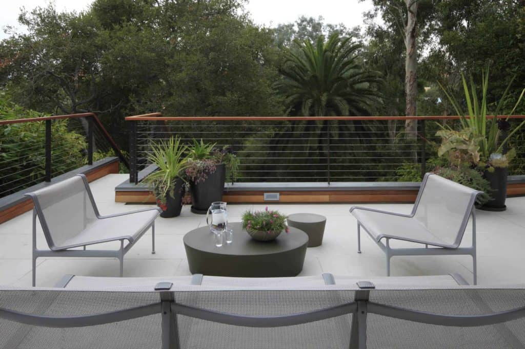 Modern Elevated Chic Deck Railing