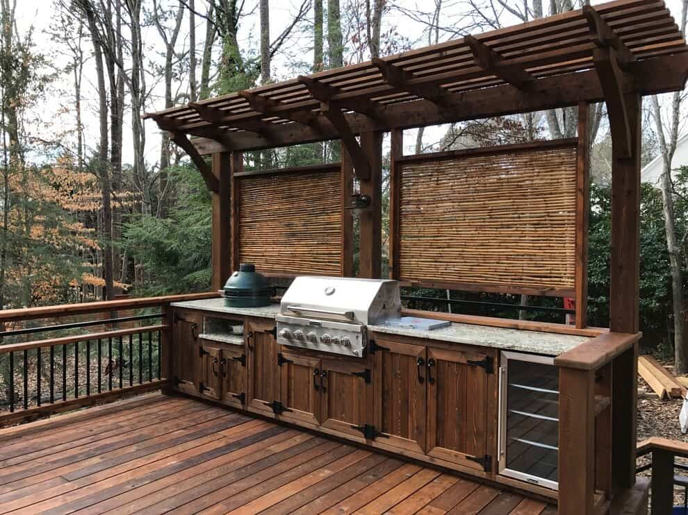 Blend You Outdoor Kitchen With The Elements