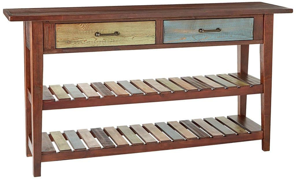 Vintage Xylophone Sofa Table