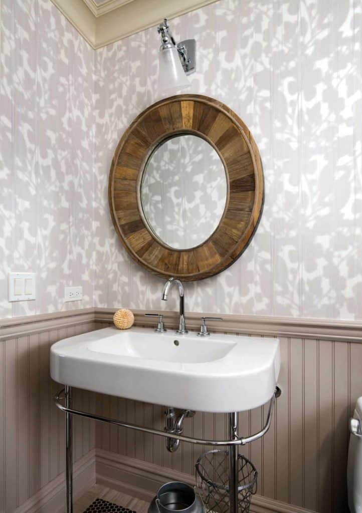 wainscoting paint ideas brown