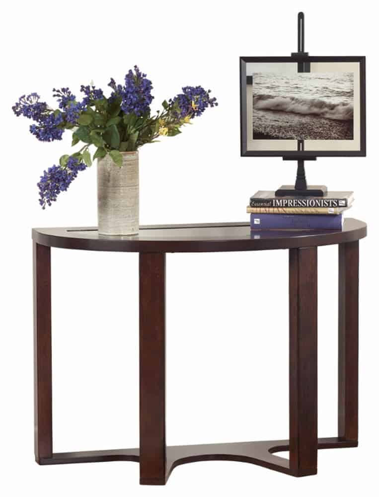 Unique Half Circle Accent Table