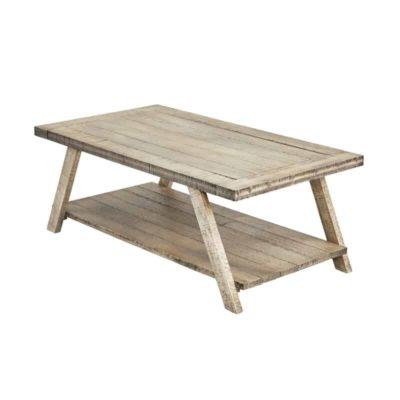 Grey wooden rectengular table, grey shelf