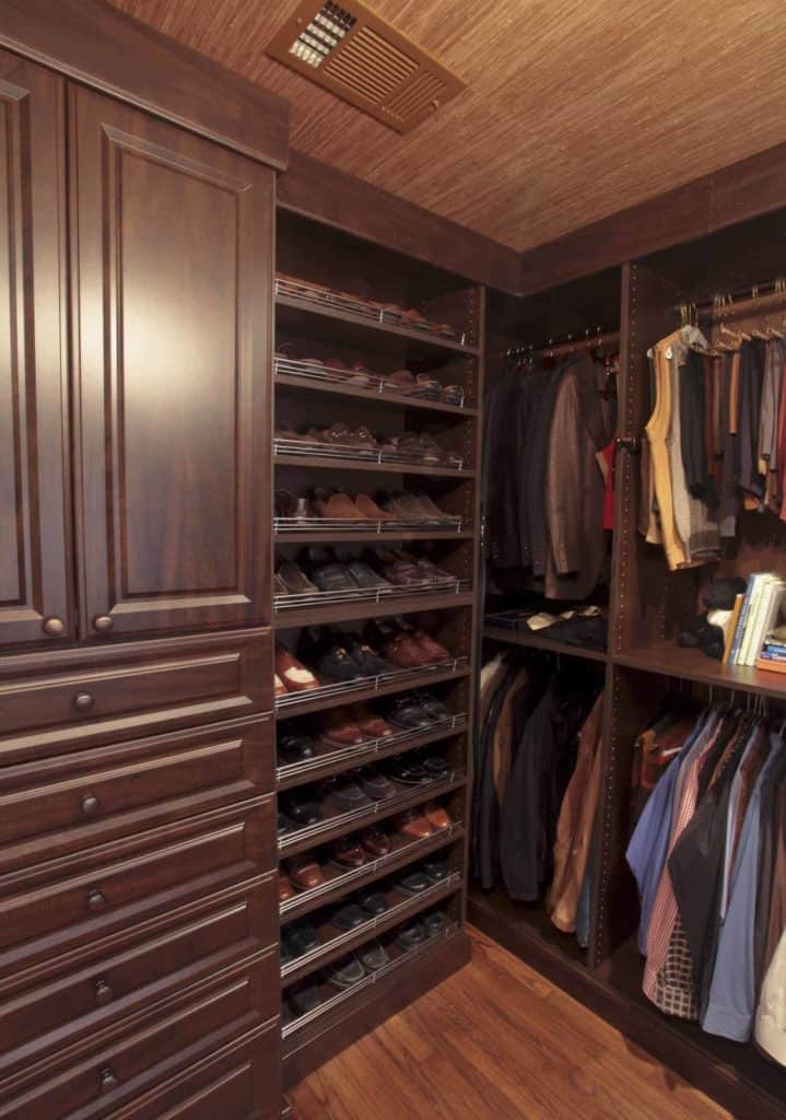 Shoe Storage Cabinetry