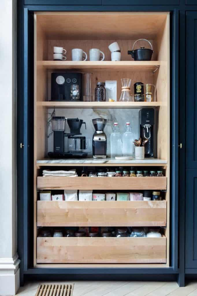 Closet of Coffee Station