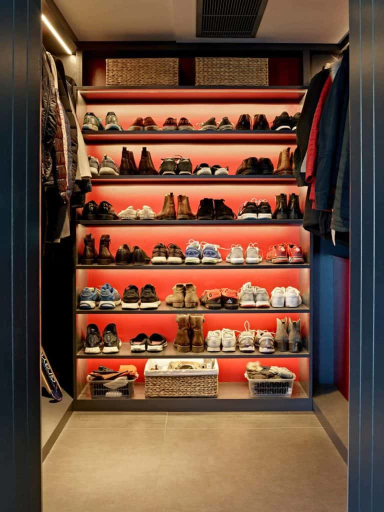 Shoe Storage Display
