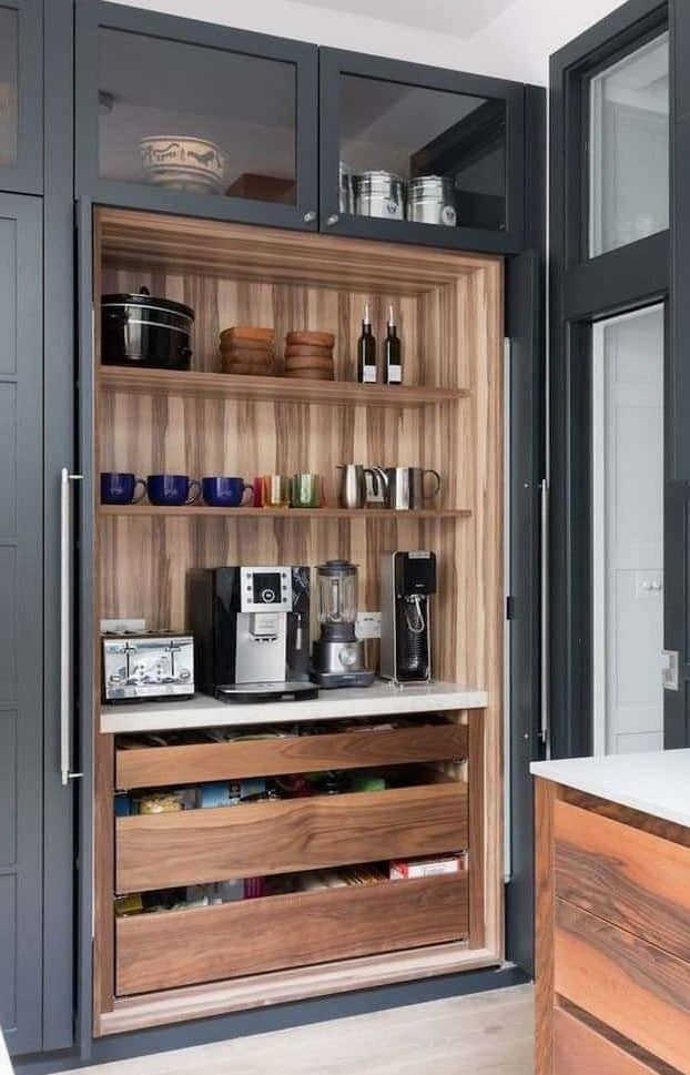 Pantry Coffee Bar Ideas