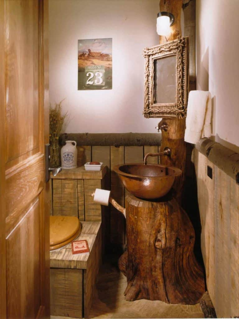 rustic wood wainscoting ideas