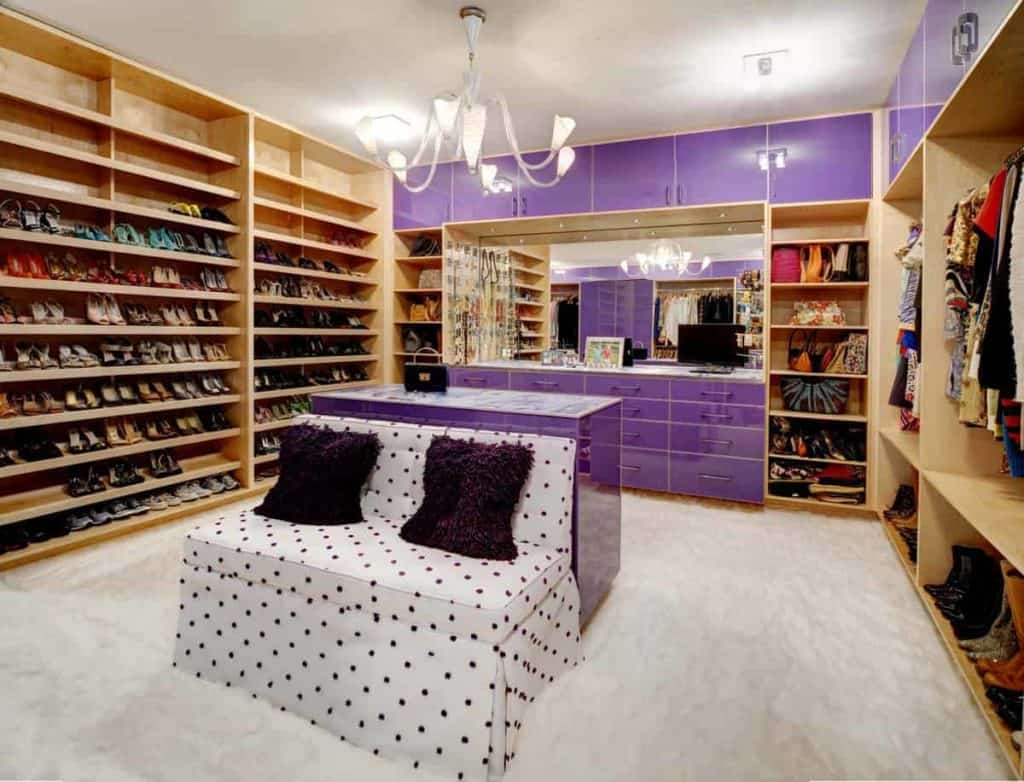 Massive Shoe Storage Solution