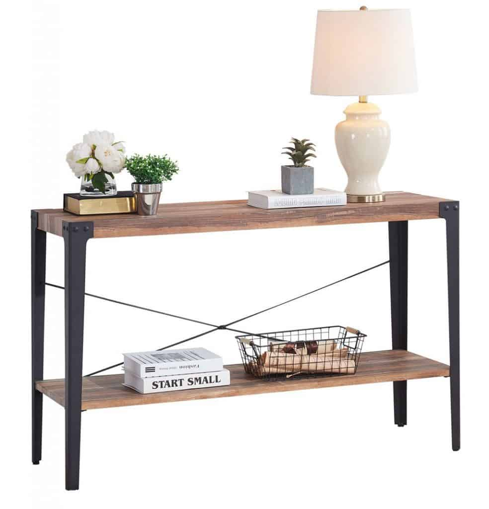 Rustic Chic Sofa Table