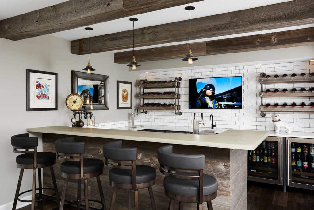 The Aviator's Basement Bar