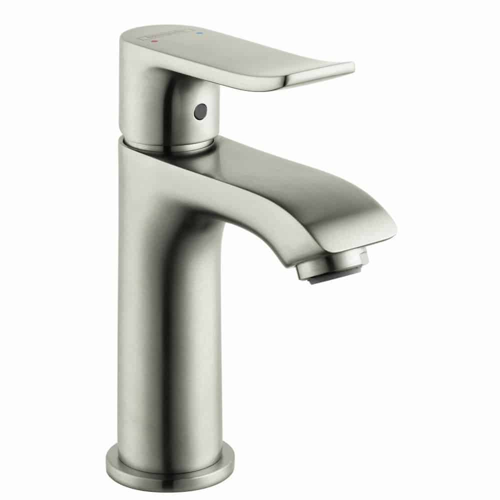 Hansgrohe 31088821 Metris E Single Hole Faucet, Brushed Nickel