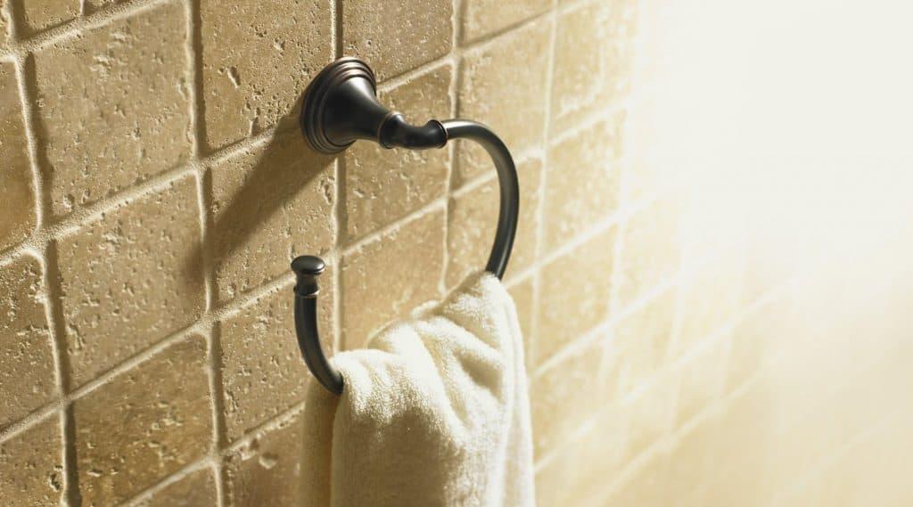 Kohler K-10557-2BZ Devonshire Towel Ring
