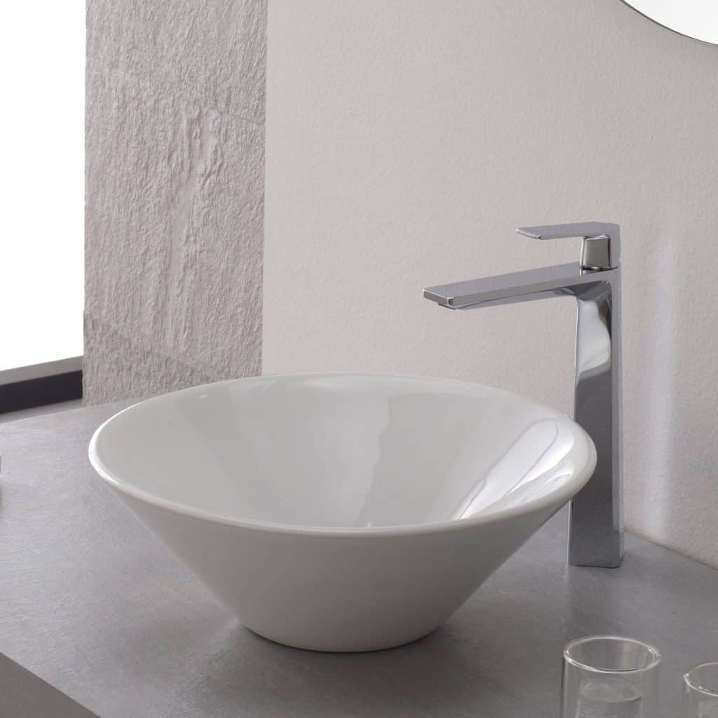 Kraus KEF-15300CH Aplos Single Lever Basin Bathroom Faucet Chrome