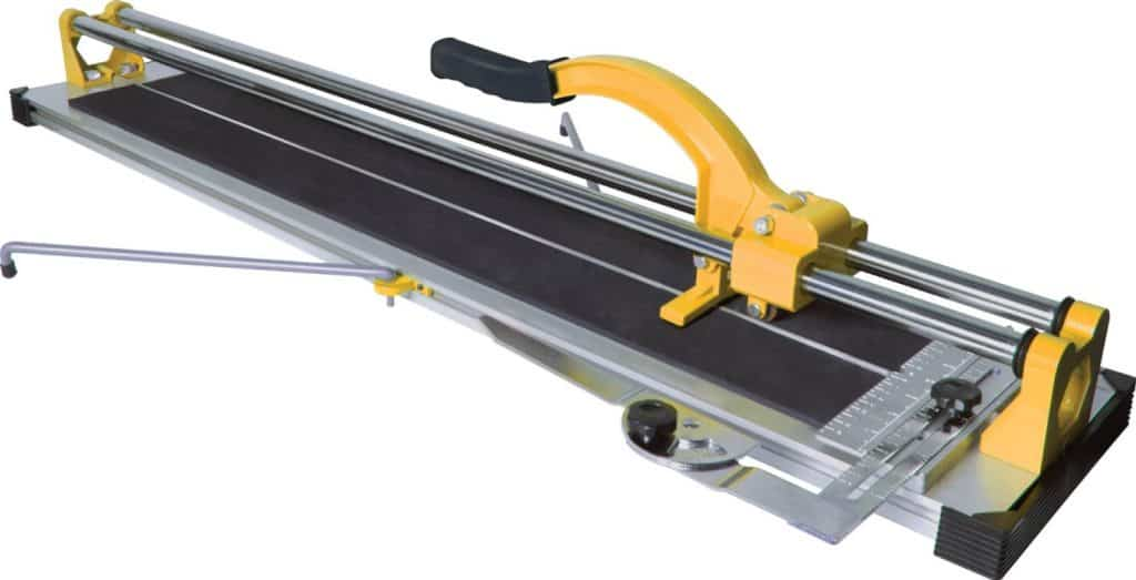 Manual Tile Cutter with Tungsten Carbide Scoring Wheel for Porcelain and Ceramic Tiles