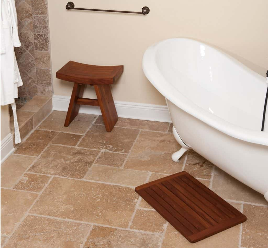 Teak Bath & Shower Mat