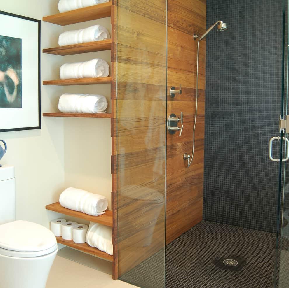 50+ Best Small Bathroom Ideas - Bathroom Designs for Small ... on Small Space Small Bathroom Tiles Design  id=15103
