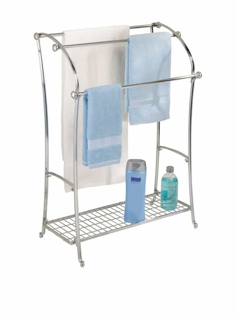 InterDesign York Lyra Towel Stand, Split Finish